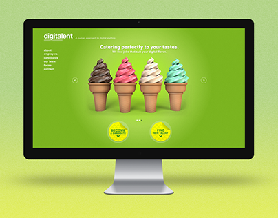 DigiTalent Website & 3D Concepts
