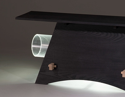 Bench with a Tube