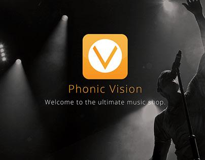 Phonic Vision - IOS Application