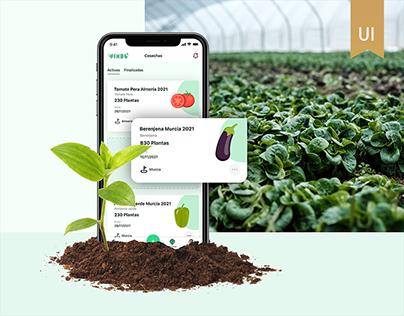 Mobile App monitorización cultivos