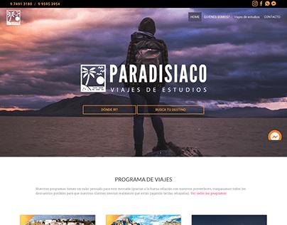 WEB PARADISIACO VIAJES