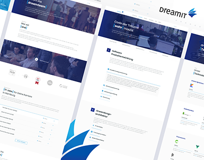 DreamIT Software Company - UI/UX