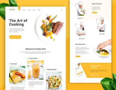 Website UI/UX Design Concept