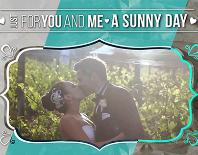 Expresso Wedding Day 01 - After Effects Template