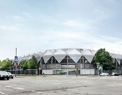 THE GRÜNWALDER STADIUM