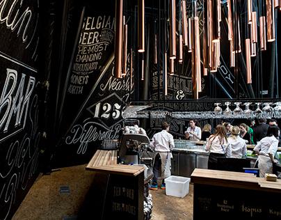 Belgium beer bar