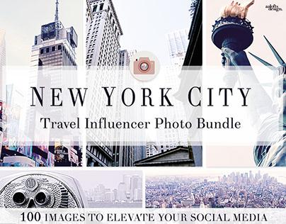 NYC Travel Influencer   Photo Bundle