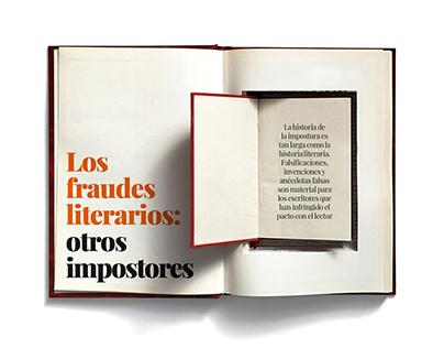 Los fraudes literarios: otros impostores