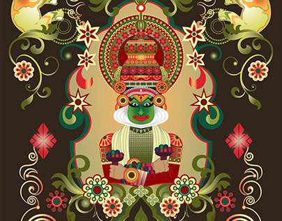 KATHAKALI : COLORS OF INDIA PROJECT