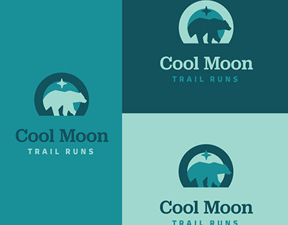 Cool Moon Trail ENdurance Runs Logo