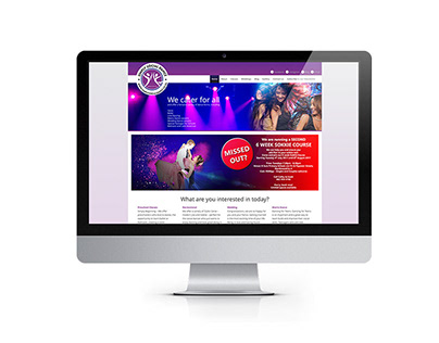 WEBSITE DESIGN Simply Social Dance