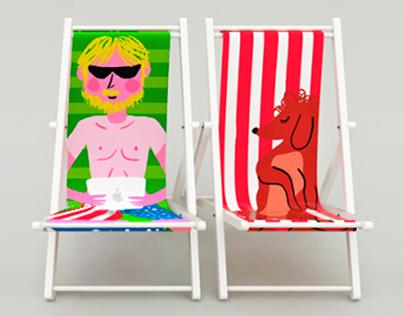Beach Chairs for Caserita