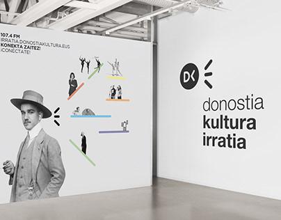 DK Irratia. Diseño de la identidad corporativa