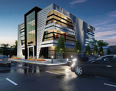 G + 2 Office Building in Dubai