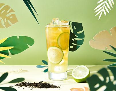 把最爱的柠檬茶献给你|饮品摄影|foodography