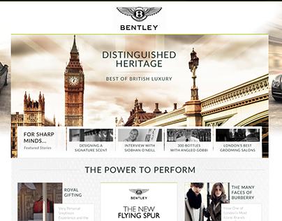 Bentley [Distinguished Heritage]
