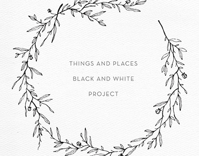 Things and places w/b project