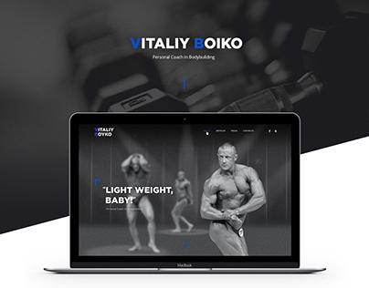 Bodybuilding personal coach