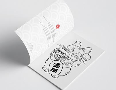 Coloring book - Japan