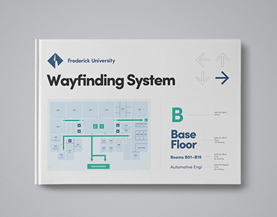Signage and Wayfinding System for Frederick University