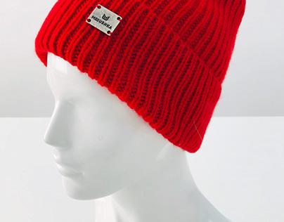 Съёмка шапок для каталога