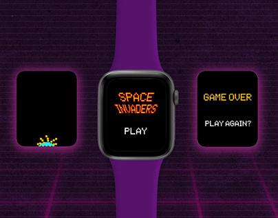 SPACE INVADERS - Apple Watch App