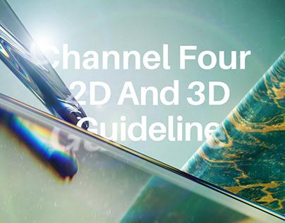 Channel Four 2D & 3D Guideline