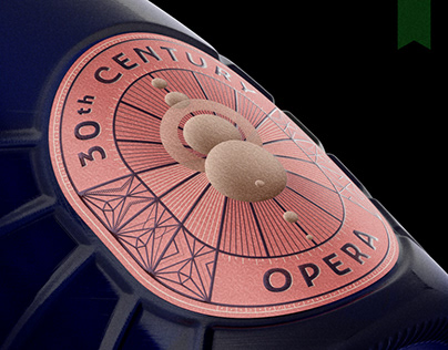 30th Century Opera - Packaging Design
