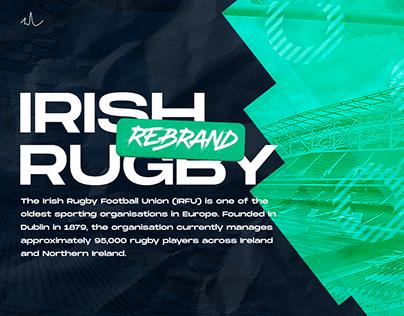 Irish Rugby Rebrand