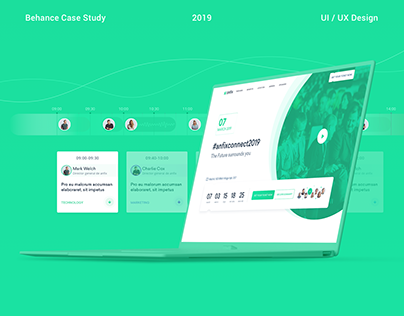 Business Event (Landing Page)