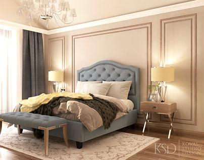 KSD-project. Design for home. Bedroom
