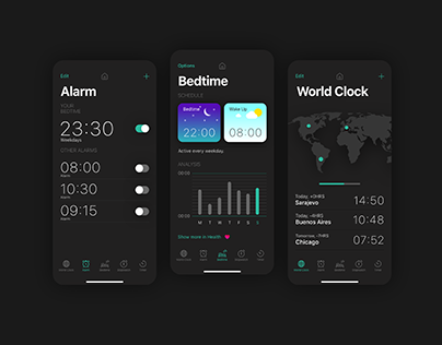 Apple Clock app / Concept