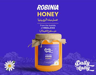 Honey Packaging & Label design by SMAK GRAPHICS DESIGN