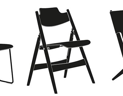 100 Folding Chairs