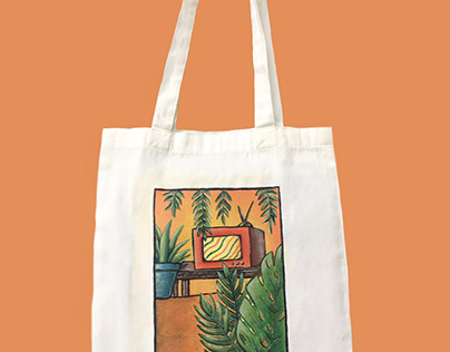 handpainted totes