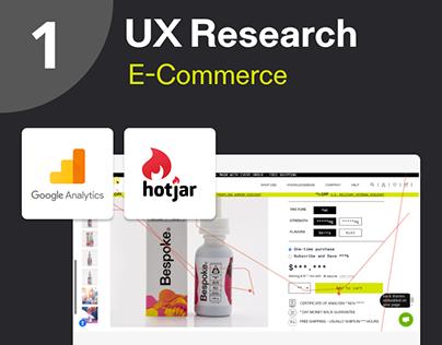 UX Research. E-Commerce