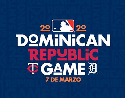 MLB Dominican Republic Game