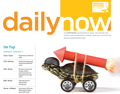 Daily Now, ASAE annual meeting newspaper, 2011