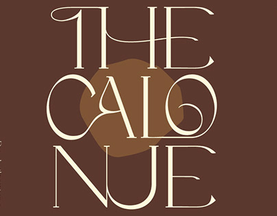 Free The Calonue Classic Font