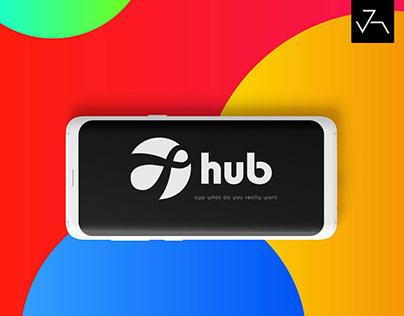 hub App UI/UX - Jensonart
