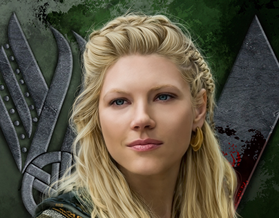 Lagertha - Digital Portrait
