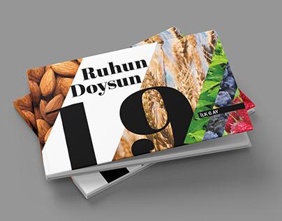 Ruhun Doysun - İlk 6 ay, Editorial Design