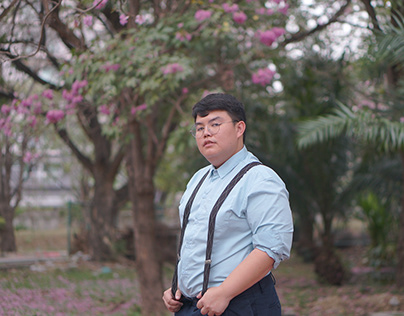 """Pink & Blue"" Photo Set"