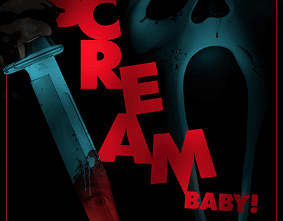 It's a Scream Baby! Art Print