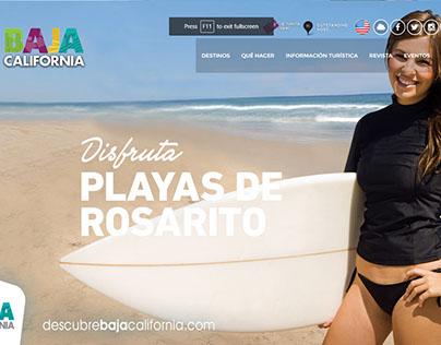 Descubre Baja California | Web Design