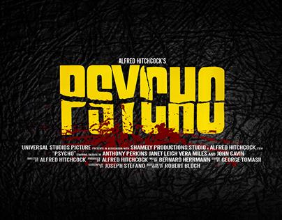 Psycho minimal poster
