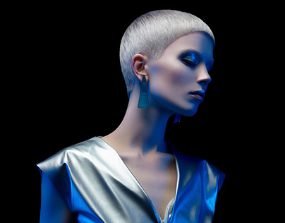 collection SPACE SILVER for Russian Hairdressing Award