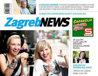 City magazine / newspaper layout