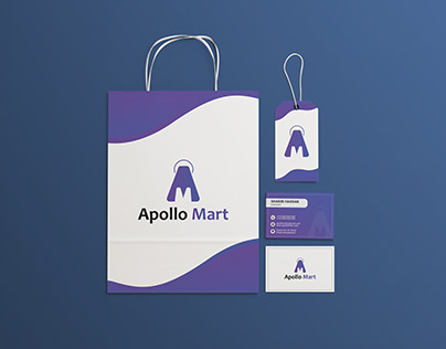 Apollo Mart Branding Design
