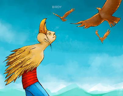 Illustration - Birdy